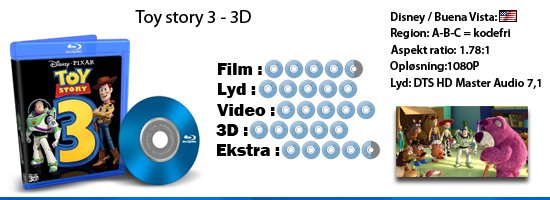 Toy story 3 - 3D