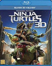 Teenage Mutant Ninja Turtles 3D blu-ray anmeldelse