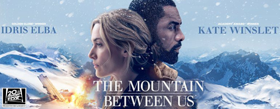 The Mountain Between Us blu-ray anmeldelse