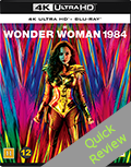 Wonder Woman 1984 UHD 4K blu-ray Quick review