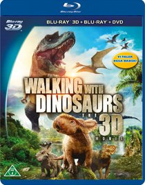 Walking with Dinosaurs The Movie 3D blu-ray anmeldelse