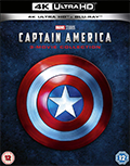 Captain America movie collection UHD 4K blu-ray anmeldelse