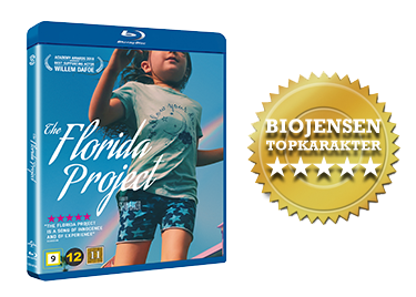 The Florida Project blu-ray anmeldelse
