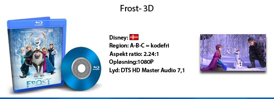 Frost 3D Blu-ray