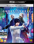 Ghost in the shell UHD 4K blu-ray anmeldelse