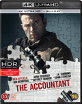 The Accountant UHD 4K blu-ray anmeldelse