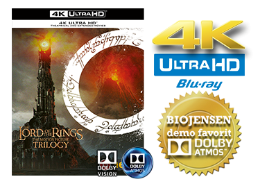 The Lord of the Rings Trilogy UHD 4K blu-ray anmeldelse