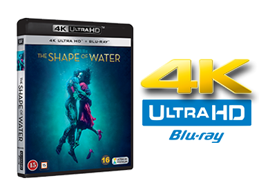The shape of water UHD 4K blu-ray anmeldelse