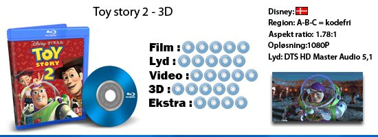 Toy Story 2 - 3D