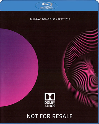 Dolby Atmos Demonstration Disc september 2016