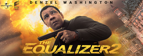 The Equalizer 2 blu-ray anmeldelse
