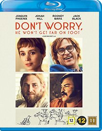 Dont worry he wont get far on foot blu-ray anmeldelse