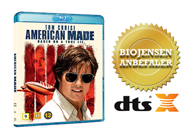 American Made blu-ray anmeldelse