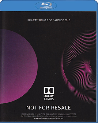 Dolby Atmos Demonstration Disc august 2018