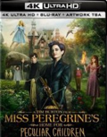 Miss Peregrines Home for Peculiar Children UHD 4K blu-ray anmeldelse