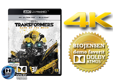 Transformers: Dark of the moon UHD 4K blu-ray anmeldelse