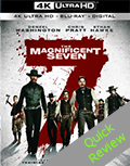 The Magnificent Seven UHD 4K blu-ray anmeldelse