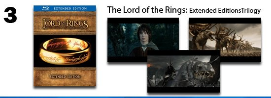 The Lord of the Rings: Extended Editions Trilogy