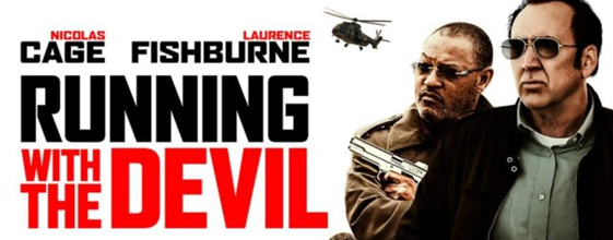 Running With The Devil blu-ray anmeldelse