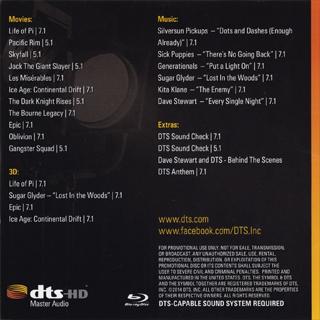 DTS Demo Disc