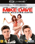 Mike and Dave Need Weddding Dates UHD 4K blu-ray anmeldelse