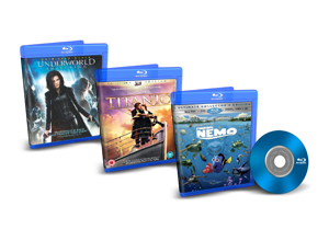 3D Blu-Ray Best Of 2012