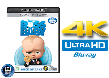 The Boss Baby UHD 4K blu-ray anmeldelse