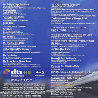 DTS Blu-Ray Demonstration Disc 15