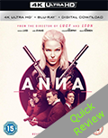 Anna UHD 4K blu-ray Quick review