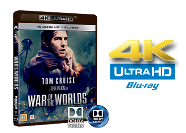 War of the Worlds UHD 4K blu-ray anmeldelse