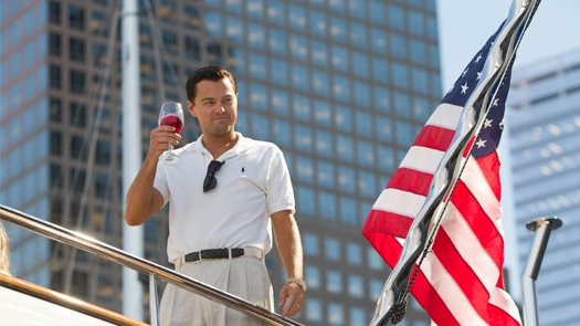 The Wolf of Wall Street blu-ray anmeldelse