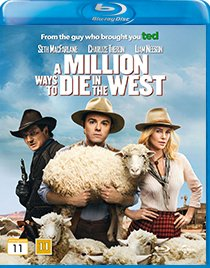 A Million Ways to Die in The West blu-ray anmeldelse