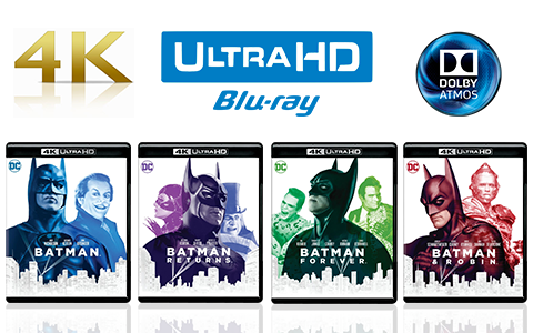Batman UHD blu-ray