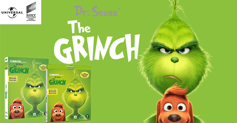 Vind The Grinch på blu-ray og dvd