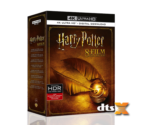 Harry Potter UHD boks