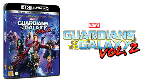 Guardians of the Galaxy Vol. 2 UHD blu-ray