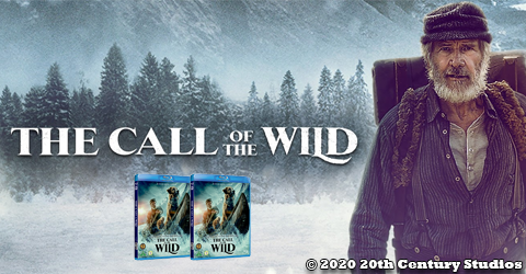 Vind The call of the wild på blu-ray