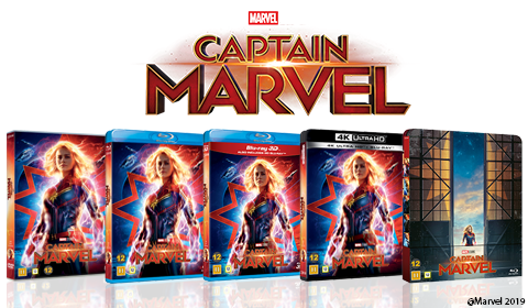 Captain Marvel on disc