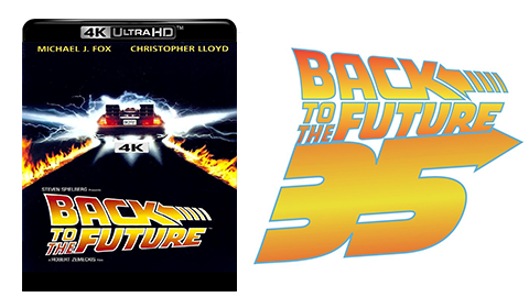 Back to the Future Trilogy UHD 4K blu-ray