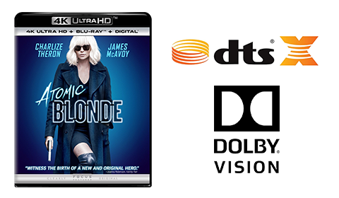 Atomic Blonde UHD blu-ray