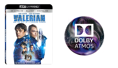 Valerian and the City of a Thousand Planets UHD blu-ray