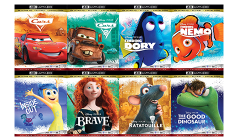Disney UHD disc juli 2019