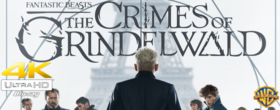 Fantastic Beasts: The Crimes of Grindelwald UHD 4K blu-ray anmeldelse