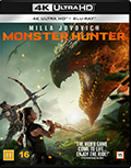 Monster Hunter UHD 4K blu-ray anmeldelse