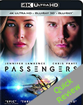 Passengers UHD 4K blu-ray Quick review