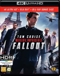 Mission Impossible Fallout UHD 4K blu-ray anmeldelse