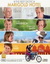 The Best Exotic Marigold Hotel dvd anmeldelse
