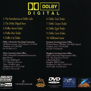 We've Got The Whole World Listening - The Dolby Digital Demo
