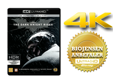 The Dark Knight Rises UHD 4K blu-ray anmeldelse