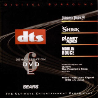 DTS Demonstration DVD No.6 Limited edition